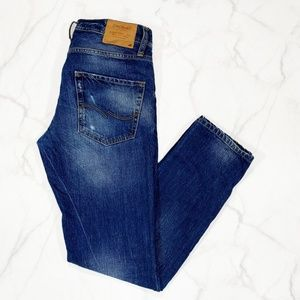 """Jack and Jones Mike Comfort Fit Jeans 30.5"""" Inseam"""